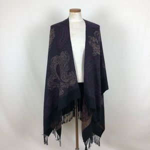 Accessories - SOLD TO FREIND!! Purple Paisley Shawl